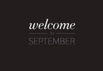 welcome september ceria