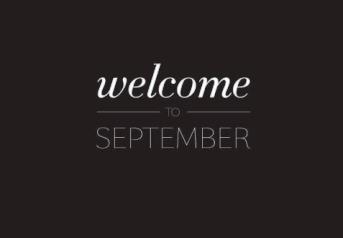 welcome september ceria