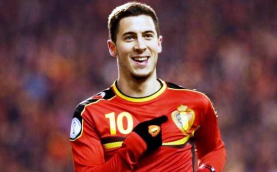Eden Hazard-Prediksi Pertandian nanti malam : Belgia vs Spanyol