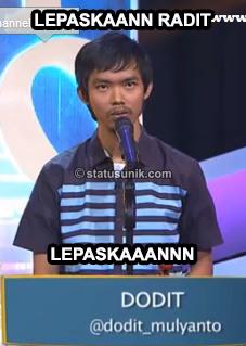 Gambar Kata-kata Lucu Dodit Mulyanto Stand UP Comedy