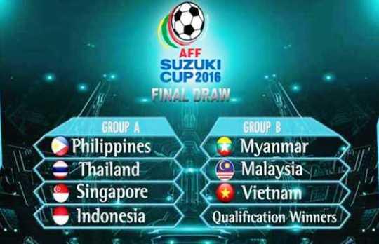 jadwal timnas indonesia dalam piala aff 2016