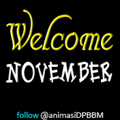 dp bbm welcome Bulan November