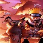 DP BBM Gif Animasi Bergerak Naruto, Thank You, Kupu-kupu