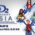 Hasil DA Asia 2 Kamis 27 Oktober 2016: Siapa Peserta Yang Tersenggol Grup B D' Academy Asia 2 Top 36 Indosiar Nanti Malam?