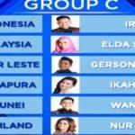 Siapa Yang Tersenggol DA Asia 2 Grup C Babak 36 Besar Nanti Malam, Hasil DAA2 Indosiar 29 Oktober 2016