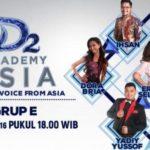 Hasil DA Asia 2 Grup E Top 36, Jadwal Peserta DAA2 Indosiar Nanti Malam 01 dan 02 November 2016