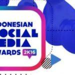 Inilah Pemenang Indonesia Social Media Awards (ISMA) 2016: Raditya Dika Borong Penghargaan