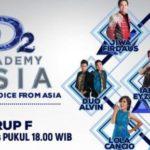 Hasil DA Asia 2 Grup F, Jadwal Peserta DAA2 Top 36 Indosiar Nanti Malam 03 dan 04 November 2016