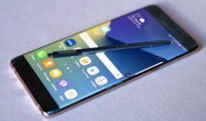 Harga Samsung Galaxy Note 7 Terbaru November 2016 dan Spesifikasi flagship IP68 ( tahan air )