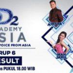 Hasil Nilai Akhir DAA2 Result Show: Prediksi Peserta Yang Tersenggol DA Asia 2 Grup F 24 Besar Nanti Malam 17/11/2016