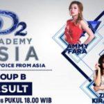 Hasil DAA2 Result Show Tadi Malam: Duo Alfin Nilai Tertinggi, Zizi Kirana Tersenggol di Grup B DA Asia 2 Indosiar 21 November 2016