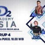 Nilai Sementara DAA2 Grup D, Hasil D'Academy Asia 2 Babak 24 Besar Indosiar Tadi Malam 12 November 2016