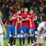 HASIL Spanyol vs Makedonia Hari Ini, Kualifikasi Piala Dunia 2018 Zona Eropa Skor Akhir 4-0