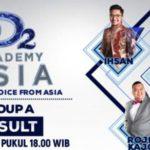 HASIL DAA2 TADI MALAM: Siapakah Yang Tersenggol di DA Asia 2 Grup A Top 9 Result Show 07/12/2016?