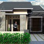 100 Gambar Rumah Minimalis 1 Lantai yang Menginspirasi, Warna Cat, Bentuk Muka, dan Selera (11-20) Eps Garasi 1 Mobil