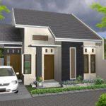 100 Gambar Rumah Minimalis 1 Lantai yang Menginspirasi, Warna Cat, Bentuk Muka, dan Selera (41-50) Eps Tipe Atap untuk Buangan Air Hujan ke Depan