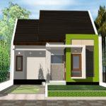 100 Gambar Rumah Minimalis 1 Lantai yang Menginspirasi, Warna Cat, Bentuk Muka, dan Selera (51-60) Eps Tipe 36 dan 45 dengan Carport 1 Mobil