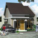44 Gambar Desain 3D Denah Rumah Minimalis 1 Lantai: Carport 2 Mobil, 1 Kamar Utama, Kamar Mandi Dalam yang Unik (36-44)