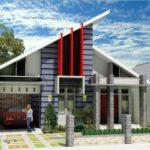 100 Gambar Rumah Minimalis 1 Lantai yang Menginspirasi, Warna Cat, Bentuk Muka, dan Selera (71-80) Eps Parkir Mobil Luas