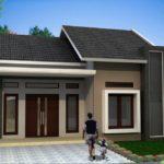 44 Gambar Desain 3D Denah Rumah Minimalis 1 Lantai: Kamar yang Luas dan Taman yang Apik (1-11)