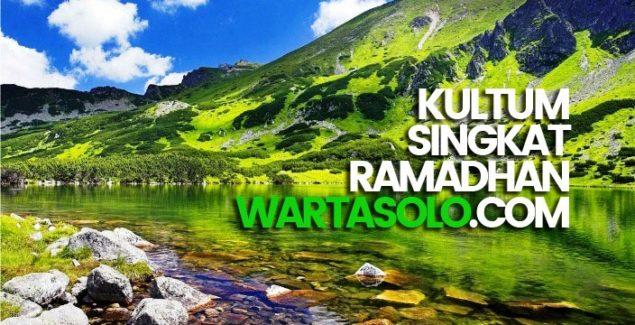 Kultum Pendek Ramadhan Amalan yang Sedikit Namun Rutin Istiqomah Jauh Lebih Baik dan Dicintai Allah