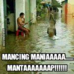 16 Meme Banjir Jakarta 2017, Air Menggenang Dimana-mana