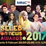 Inilah Daftar Nominasi Seleb On News Awards 2017 Live di MNCTV