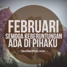 gambar kata bijak harapan februari