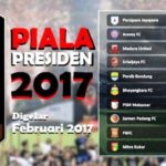 Pembagian Grub dan Peserta Piala Presiden 2017