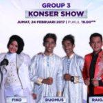 Azizah Maumere Raih Sms Tertinggi Sementara DA4 Grup 3 Top 25: Hasil D'Academy 4 Tadi Malam 24 Februari 2017