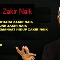 Kata Kata Mutiara Semangat Hidup Zakir Naik Cover