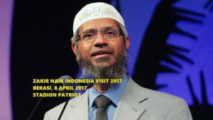 Pendaftaran Online Zakir Naik Indonesia Visit 2017 untuk Bekasi: Peminat Makin Membludak