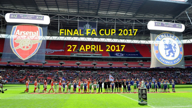 Nonton Bola Online Final FA CUP 2017 Chelsea Vs Arsenal di Wembley Stadium 27 Mei 2017