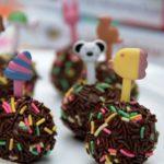 Kue Kering Spesial Lebaran 1438H: Bola-Bola Coklat Kue Marie Enak Dan Mudah