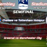 PREDIKSI Arsenal Vs Manchester City, Jadwal Semifinal FA CUP 2017 Di Wembley Stadium (23/04/17)