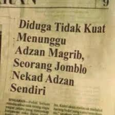 DP BBM Anak Rantau Sahur Sendiri Ucapan Lucu