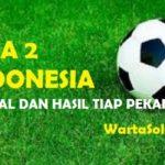 Hasil Liga 2 Group 4 Pekan 5 (15-22 Mei 2017): Persis Solo Puncakki Klasemen Sementara, Persiba Bantul Juru Kunci