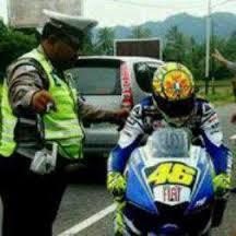 Dp Bbm Rossi Motogp Terbaru tilang polisi