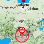 Gempa Sukabumi 12 Juni 2017, Getarannya Terasa Sampai Jabodetabek