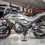 Harga Honda CB500X Terbaru September 2019, Spesifikasi Mesin CB500X Bertype DOHC 2 Cylinder 8 Katup Liquid Cooled 471 Cc