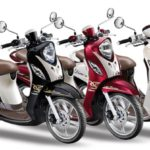Harga Yamaha Fino Fashion Terbaru Januari 2020, Spesifikasi Tipe Mesin YMJET-FI Silinder Tunggal 125cc Blue Core