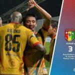 Live Skor Mitra Kukar Vs Persegres, FT 3-1 Liga 1 Gojek Traveloka Tadi Malam