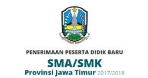 Website ppdbjatim.net Pengumuman PPDB Jatim 2017, Jadwal Alur Pendaftaran Online SMA SMK