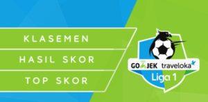 HASIL Lengkap Pertandingan Liga 1 Pekan 9 Gojek Traveloka 1-4 Juni 2017 Live di tvone