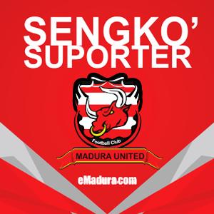 DP BBM Madura United vs PERSIBA Balikpapan supporter