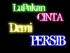 DP BBM PERSIB Bandung vs PERSELA Lamongan lupakan cinta demi persib
