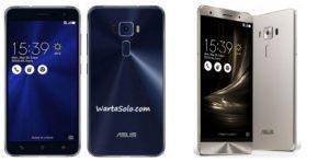Harga Asus Zenfone 3 ZE552KL Baru Bekas November 2018, Spesifikasi Gadget Memory Internal 64 GB RAM 4 GB