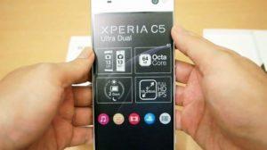 HARGA XPERIA C5 ULTRA DUAL Terbaru Januari 2019, Spesifikasi Smartphone Sony Kamera Selfy 13 MP Ram 2GB