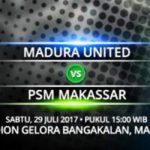 Jadwal Siaran Langsung Madura United vs PSM, Live Streaming Liga 1 Gojek Traveloka Pekan 17 dan Link Nonton Bola Online Dengan Hp