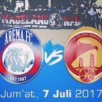 Live Streaming Arema FC Vs Sriwijaya FC, Siaran Langsung Liga 1 Gojek Traveloka Pekan 13 Live di TVone